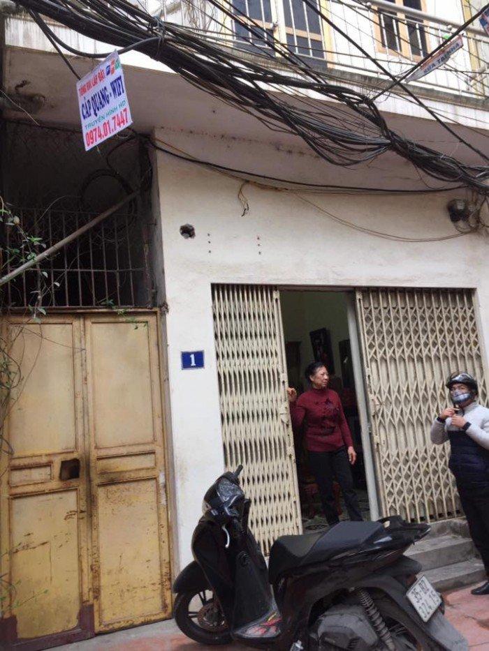 Bán nhà Kim Giang Thanh Xuân 76m2 mặt tiền 4.6m
