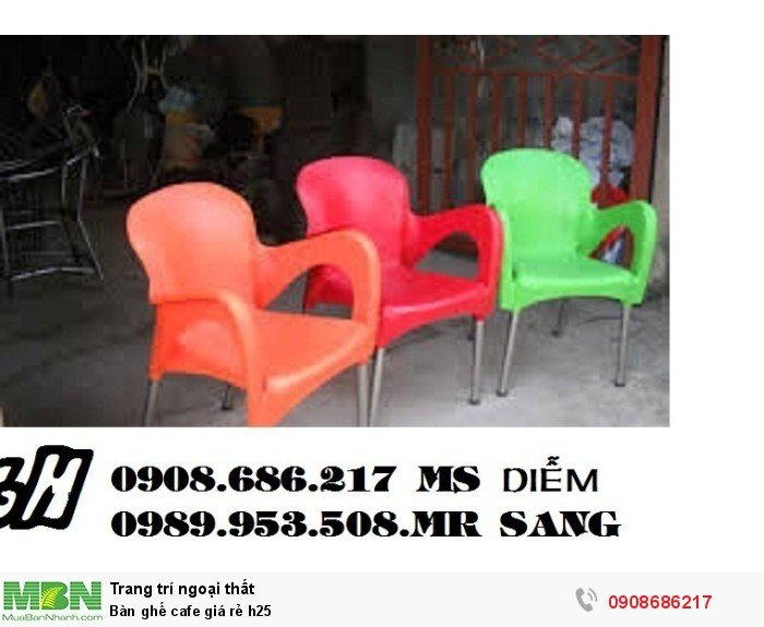 Bàn ghế cafe giá rẻ h253