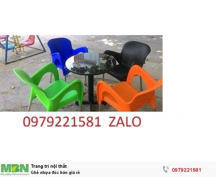 Ghế nhựa đúc bán giá rẻ