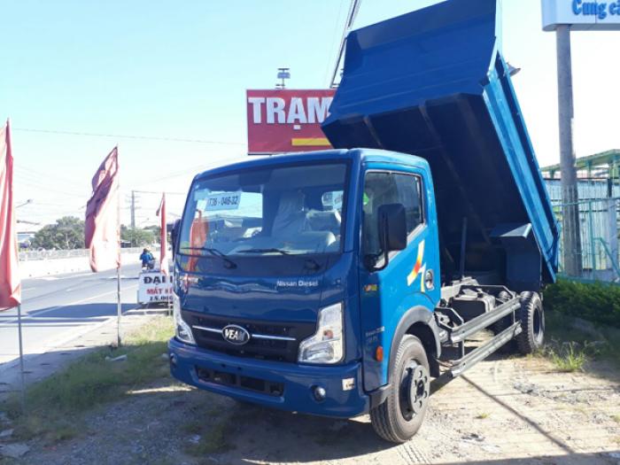 Xe tải ben 5.4 khối VEAM V652 6.5 tấn thùng dài 3.7m - Bình Dương 0