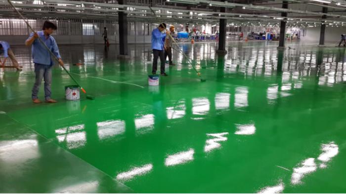 Báo giá thi công sơn epoxy, với đội ngũ thi công chuyên nghiệp
