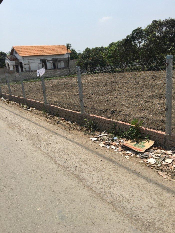 100m2 đất, giá 600tr, xã Hưng Long, huyện Bình Chánh