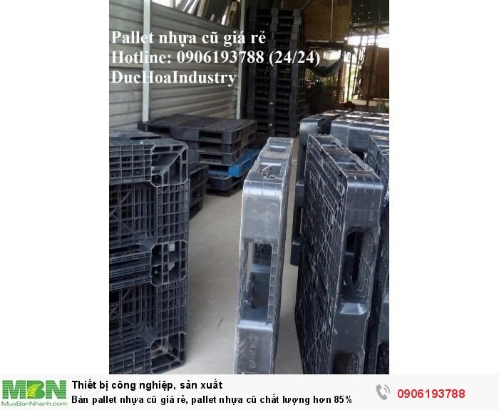 Bán pallet nhựa cũ giá rẻ - Số lượng lớn ổn định lâu dài - Liên hệ: 0906193788 (Nguyễn Hòa 24/24)
