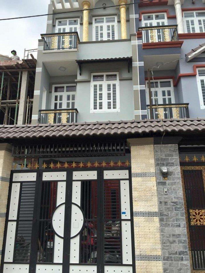Bán nhà mặt tiền hẻm 5m,đường tỉnh lộ 10 Bình Trị Đông A, Bình Tân