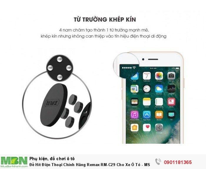 Đế Hít Điện Thoại Chính Hãng Remax RM-C29 Cho Xe Ô Tô - MSN181320