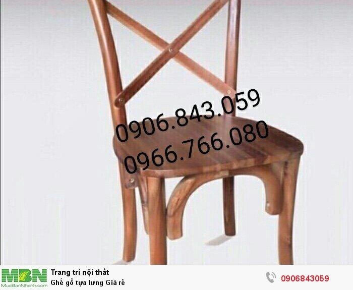 Ghế gỗ tựa lưng Giá rẻ1
