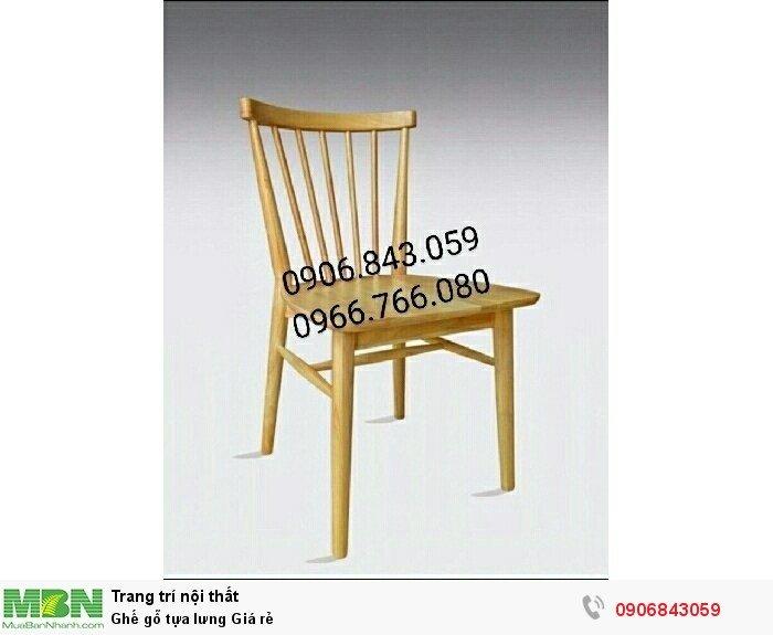 Ghế gỗ tựa lưng Giá rẻ3