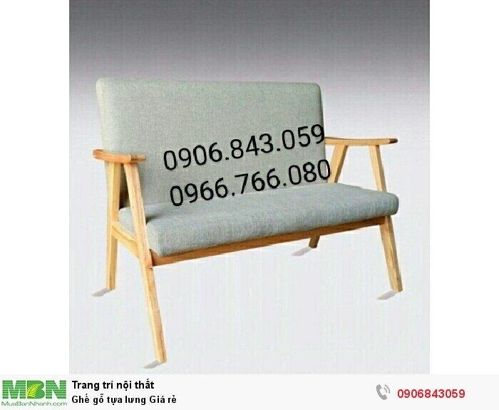 Ghế gỗ tựa lưng Giá rẻ4