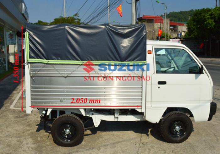 Bán suzuki Truck chạy giờ cấm 24/24, tặng 100% lệ phí trước bạ