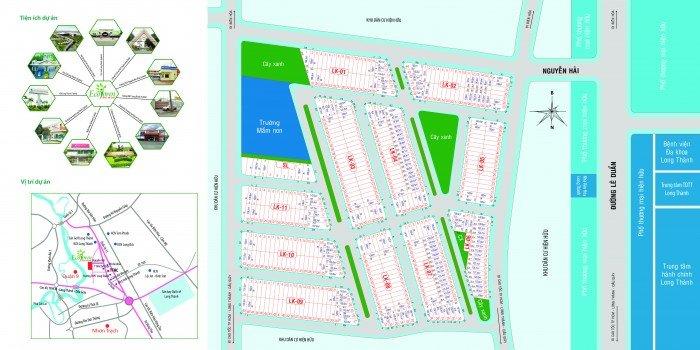 Asia Land chính thức mở bán khu đô thị cao cấp dự án Eco Town long thành
