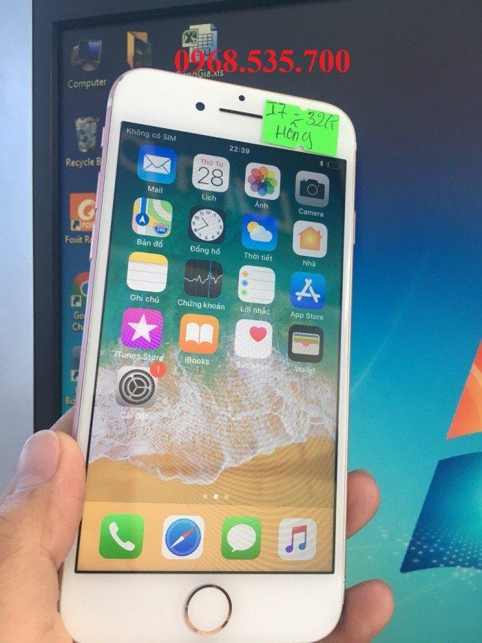 Giá bùng nổ Iphone 7 32g cuối tháng 36