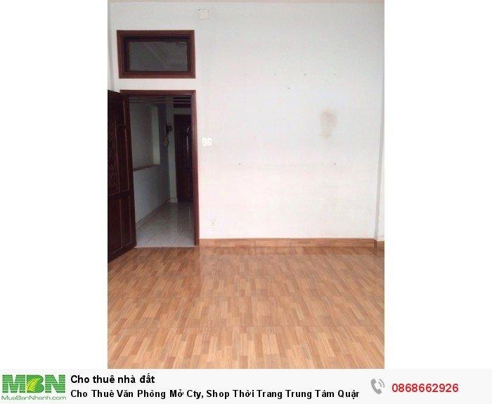 Cho Thuê Văn Phòng Mở Cty, Shop Thời Trang Trung Tâm Quận 10