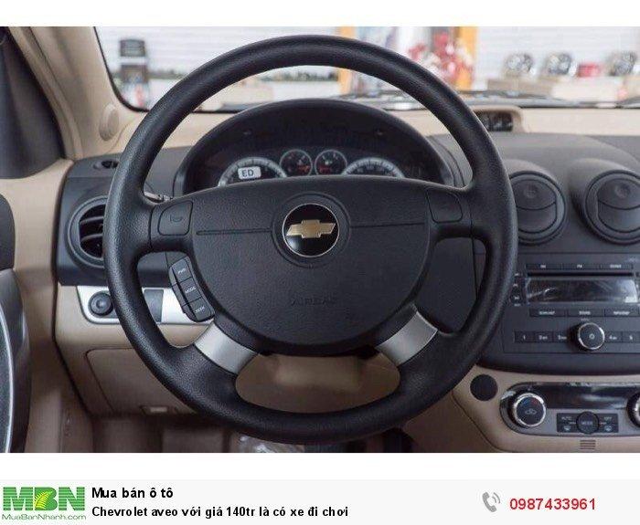 Chevrolet aveo với giá 140tr là có xe đi chơi 3