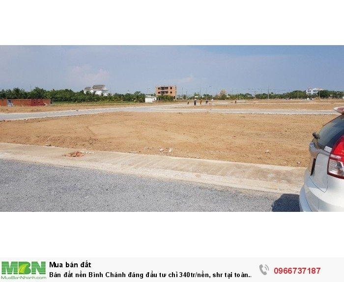 Bán đất nền Bình Chánh đáng đầu tư chỉ 340tr/nền, shr tại toàn quốc