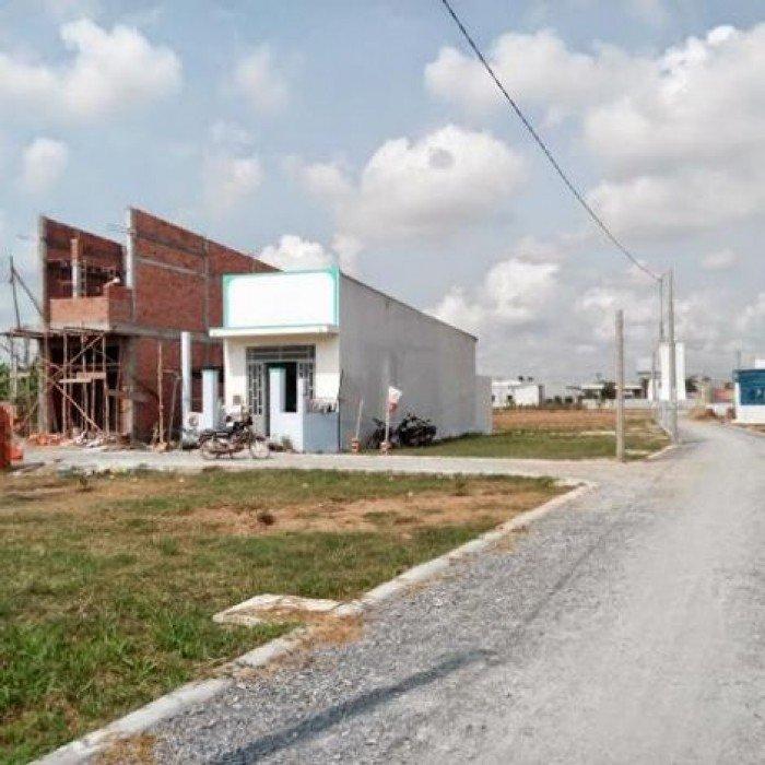 Đất mặt tiền khu công nghiệp cầu Tràm, Long An cần bán