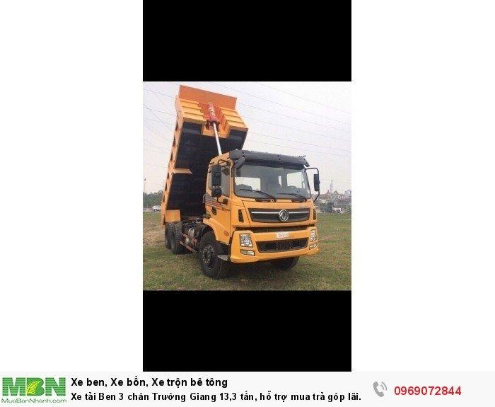 Xe tải Ben 3 chân Trường Giang 13,3 tấn, hỗ trợ mua trả góp lãi xuất thấp 2