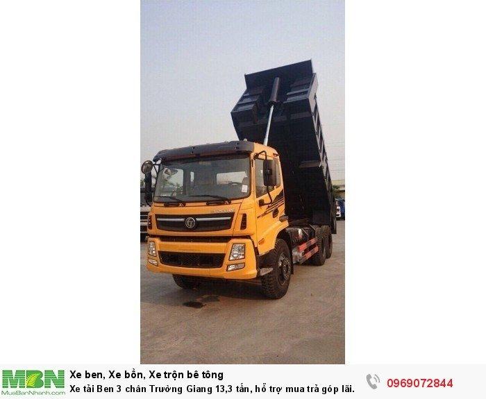 Xe tải Ben 3 chân Trường Giang 13,3 tấn, hỗ trợ mua trả góp lãi xuất thấp 4