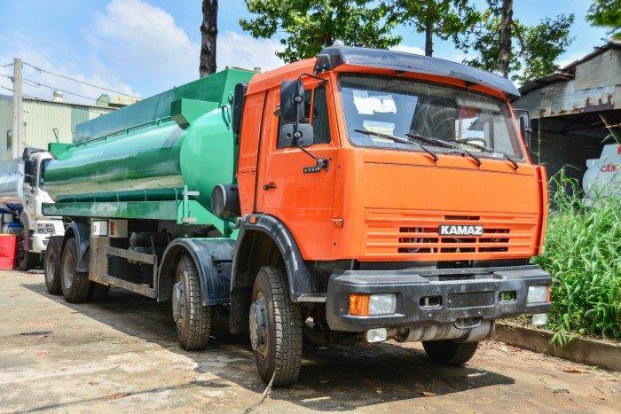 Xe kamaz nhập Khẩu từ Nga