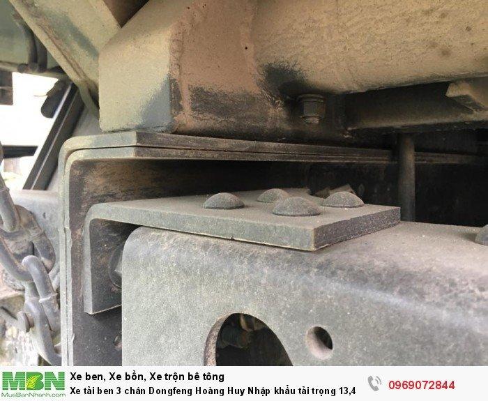 Xe tải ben 3 chân Dongfeng Hoàng Huy Nhập khẩu tải trọng 13,4T, Hỗ trợ mua xe trả góp 16