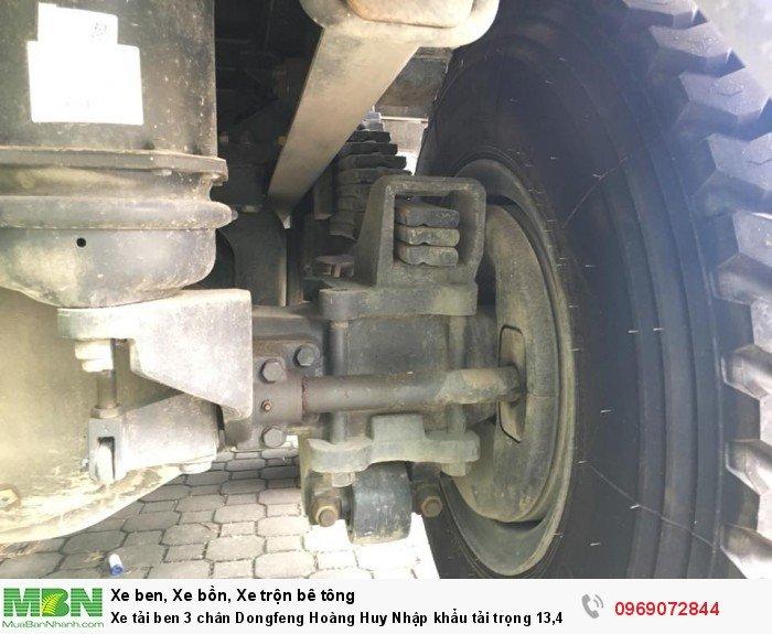 Xe tải ben 3 chân Dongfeng Hoàng Huy Nhập khẩu tải trọng 13,4T, Hỗ trợ mua xe trả góp 17