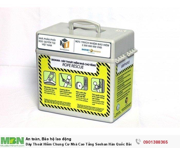 Sản phẩm được nhập khẩu từ Hàn Quốc, được cấp giấy chứng nhận an toàn PCCC.