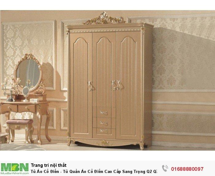 tủ quần áo phong cách cổ điển2
