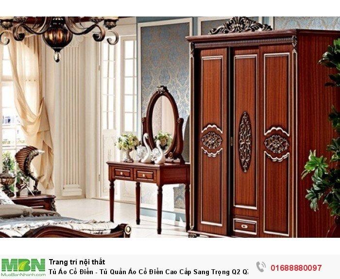 mẫu tủ quần áo gỗ cổ điển5