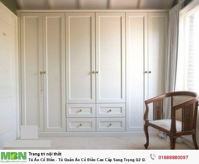 tủ áo màu trắng châu âu6