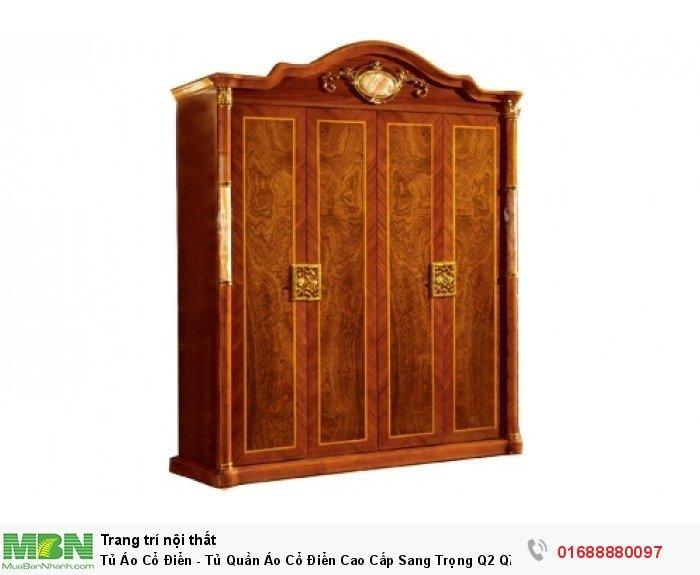 tủ quần áo gỗ cổ điển7