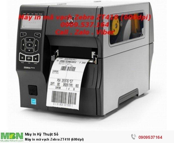 Máy in mã vạch Zebra ZT410 (600dpi)2