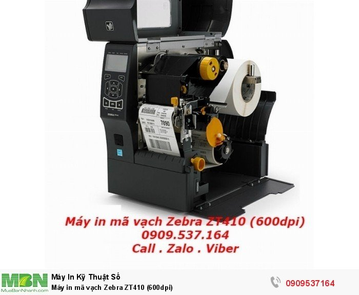 Máy in mã vạch Zebra ZT410 (600dpi)3