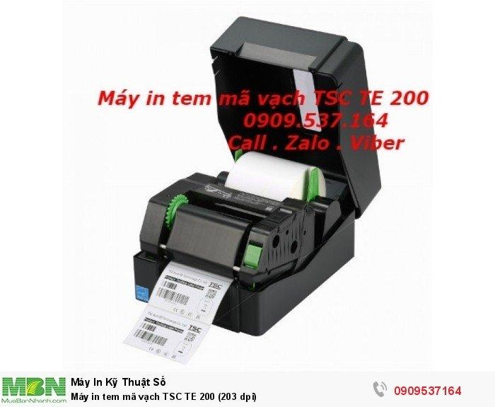Máy in tem mã vạch TSC TE 200 (203 dpi)1