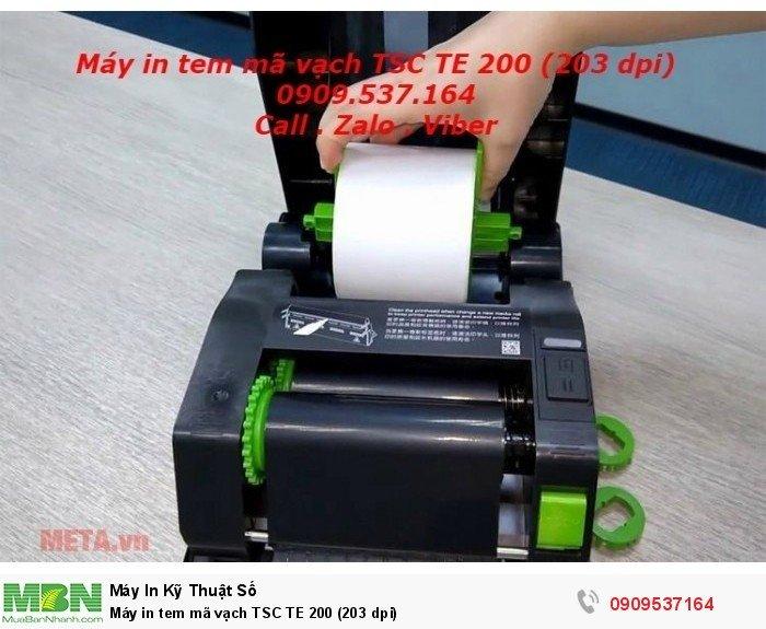 Máy in tem mã vạch TSC TE 200 (203 dpi)2