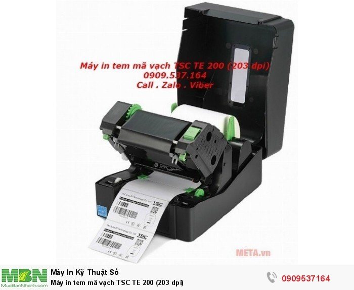 Máy in tem mã vạch TSC TE 200 (203 dpi)3