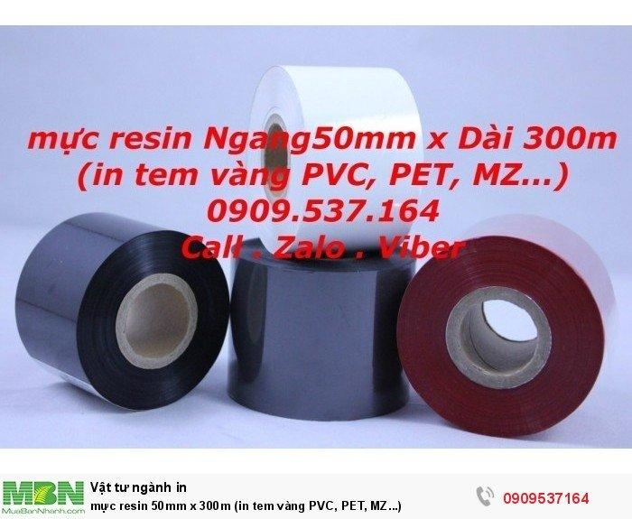 mực resin 50mm x 300m (in tem vàng PVC, PET, MZ...)2
