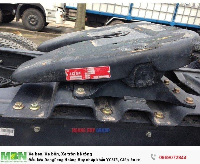 Đầu kéo DongFeng Hoàng Huy nhập khẩu YC375, Giá siêu rẻ 10