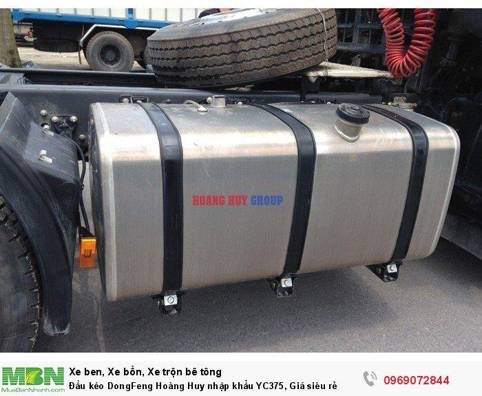 Đầu kéo DongFeng Hoàng Huy nhập khẩu YC375, Giá siêu rẻ 11