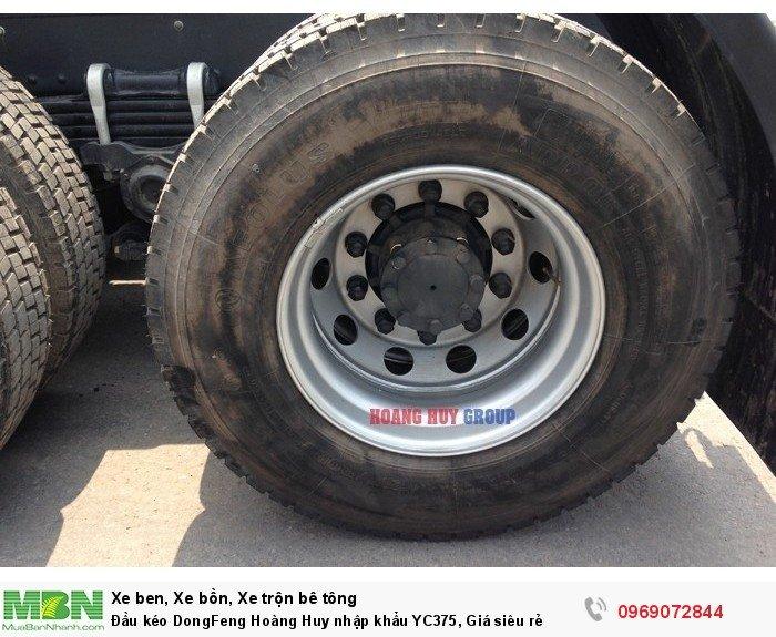 Đầu kéo DongFeng Hoàng Huy nhập khẩu YC375, Giá siêu rẻ 13
