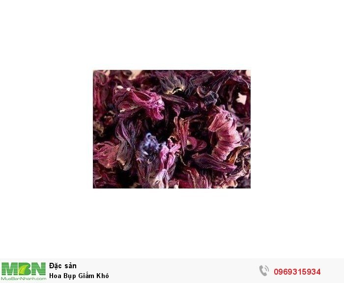 Hoa Bụp Giấm Khô2