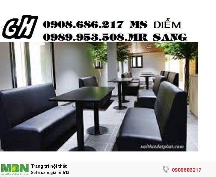 Sofa cafe giá rẻ h130
