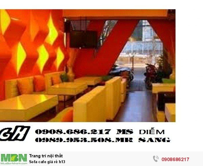 Sofa cafe giá rẻ h132
