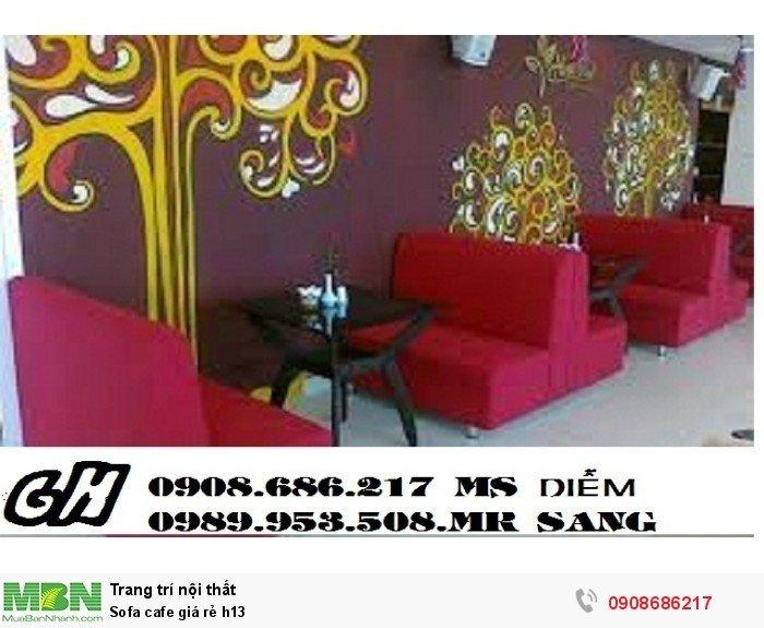 Sofa cafe giá rẻ h133