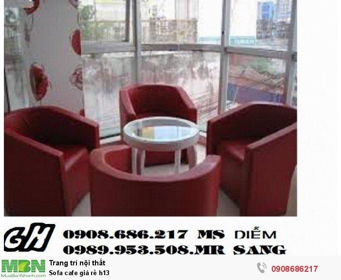 Sofa cafe giá rẻ h134