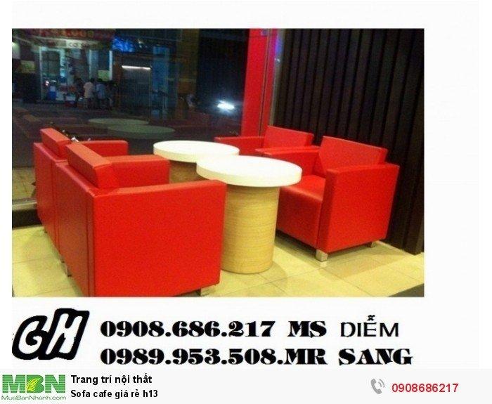 Sofa cafe giá rẻ h135