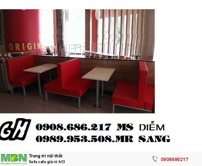Sofa cafe giá rẻ h136