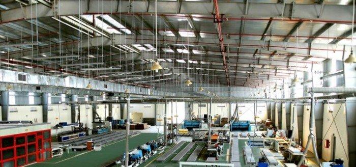 Cho thuê nhà máy sản xuất 768m2, container, ben vào thoải mái Tại Cổ Bi, Gia Lâm.