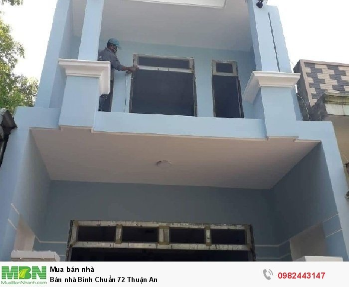 Bán nhà Bình Chuẩn 72 Thuận An