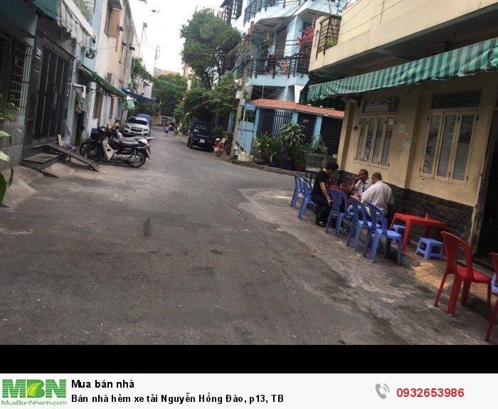 Bán nhà hẻm xe tải Nguyễn Hồng Đào, p13, TB