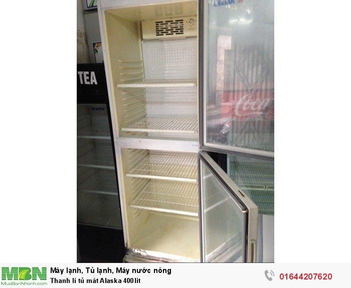Thanh lí tủ mát Alaska 400lit1