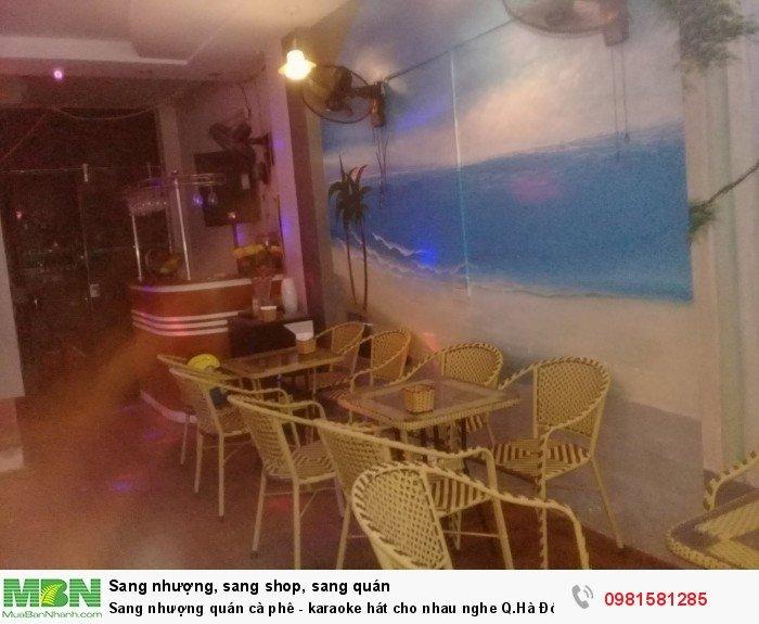 Sang nhượng quán cà phê - karaoke hát cho nhau nghe Q.Hà Đông Hà Nội